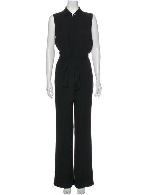 Diane von Furstenberg Silk Jumpsuit Black