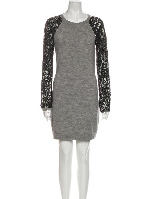 Diane von Furstenberg Wool Mini Dress Wool