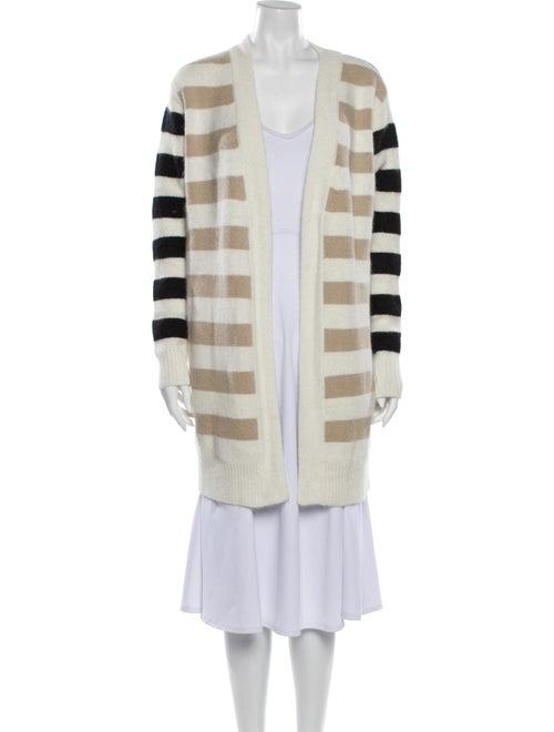 Diane von Furstenberg Angora Striped Sweater