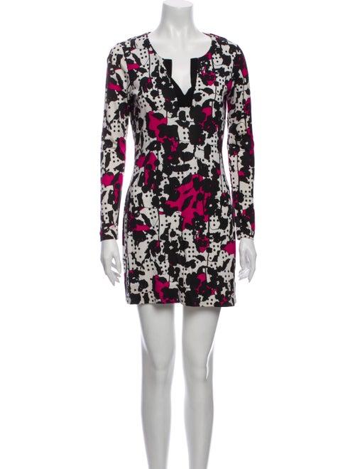Diane von Furstenberg Silk Mini Dress White