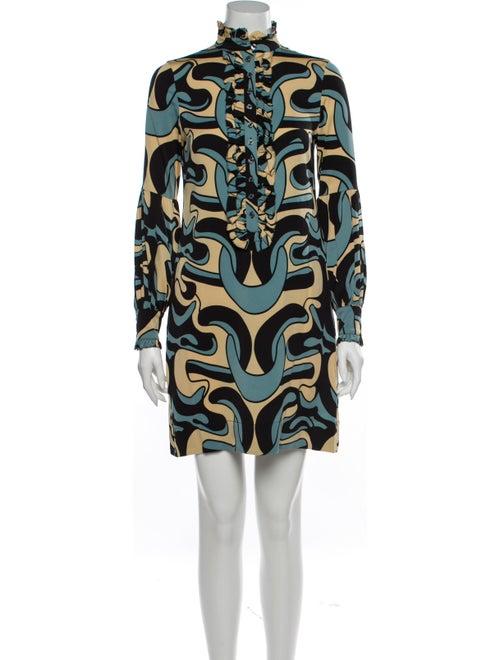 Diane von Furstenberg Silk Mini Dress w/ Tags