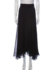 Diane von Furstenberg Silk Midi Length Skirt
