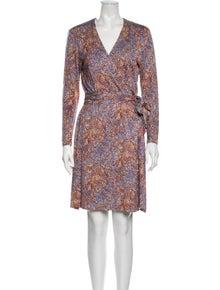 Diane von Furstenberg Vintage Knee-Length Dress