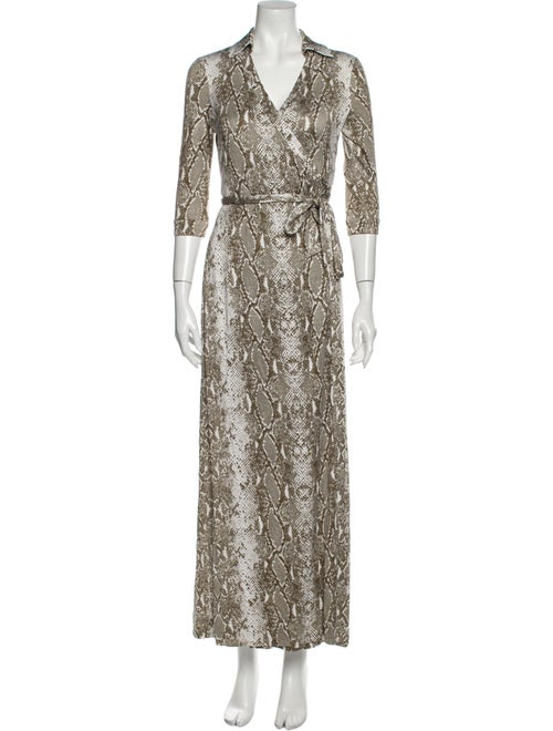Diane von Furstenberg Silk Long Dress