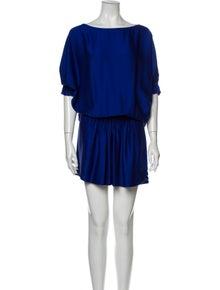 Diane von Furstenberg Silk Knee-Length Dress