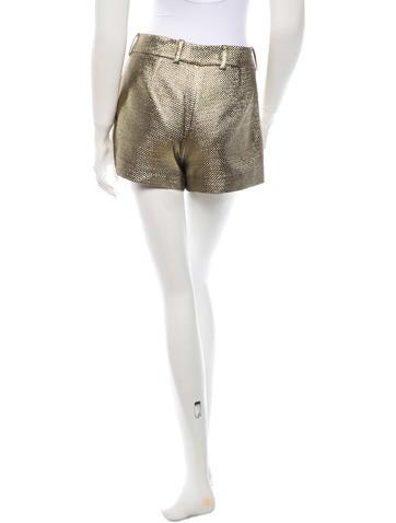 Metallic Shorts