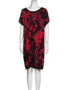 Diane von Furstenberg Merino Wool Knee-Length Dress