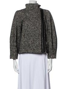 Diane von Furstenberg Printed Evening Jacket