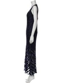 Diane von Furstenberg Patterned Long Dress