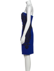 Diane von Furstenberg Strapless Mini Dress