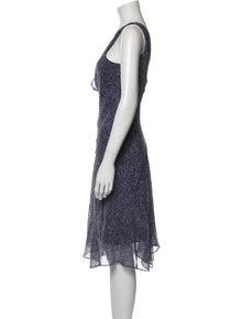 Diane von Furstenberg Silk Midi Length Dress