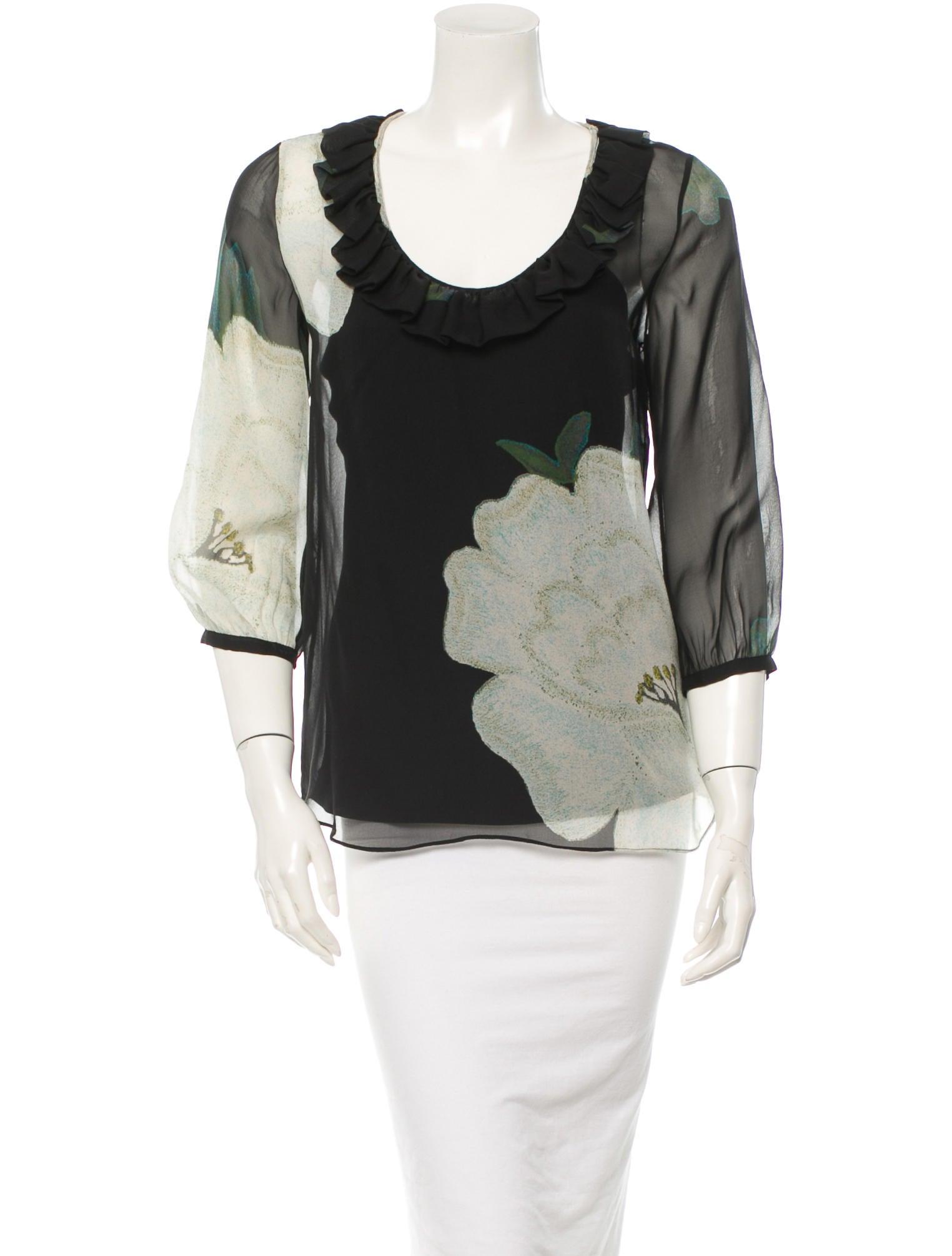 Diane von furstenberg blouse clothing wdi41941 the for Diane von furstenberg shirt