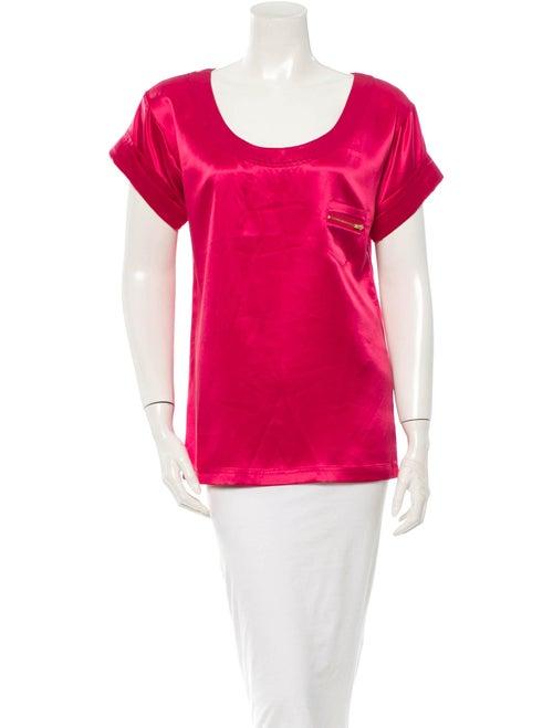 Diane von Furstenberg Pink Shirt Pink