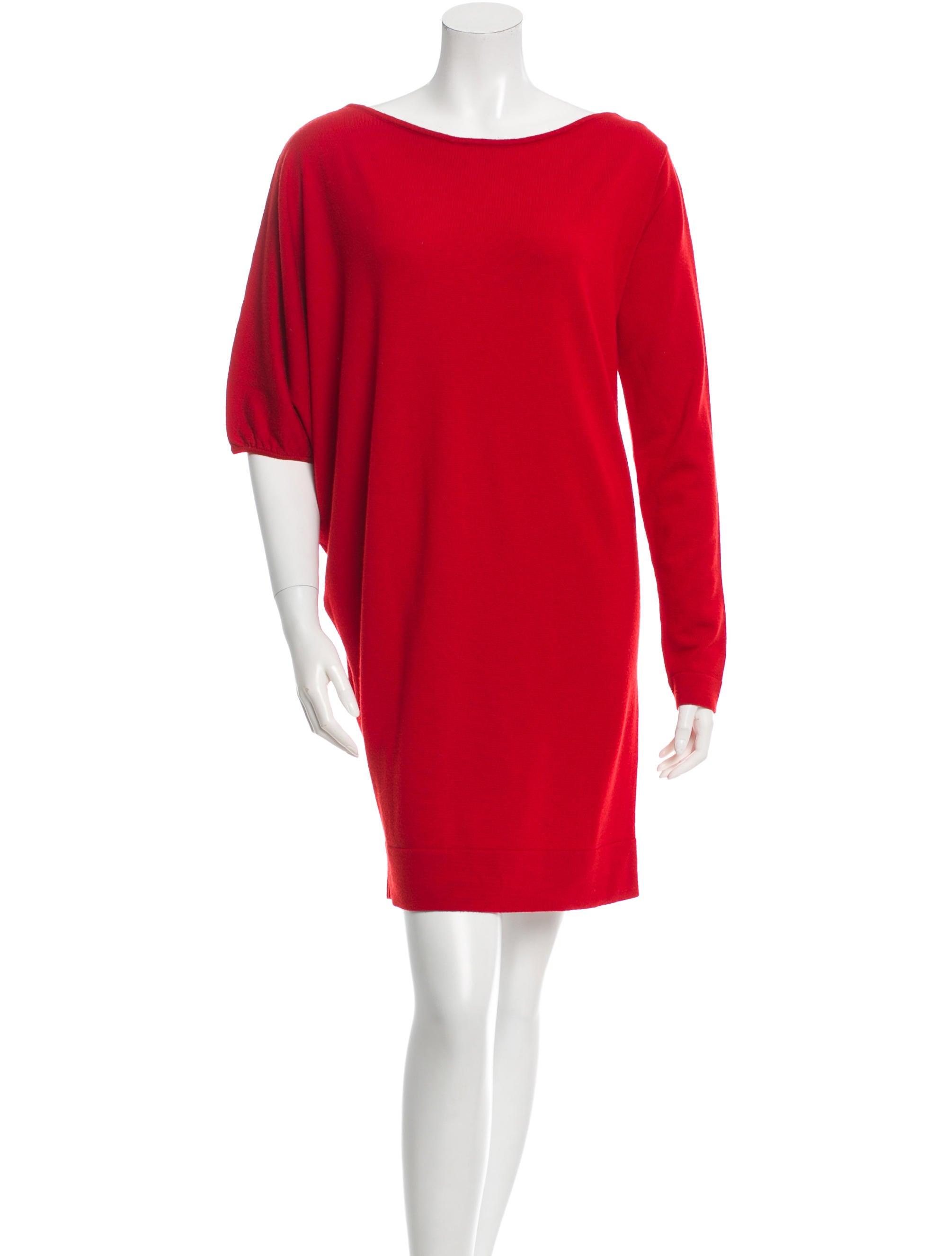 Diane von Furstenberg Wool Sweater Dress - Clothing - WDI56212 | The RealReal