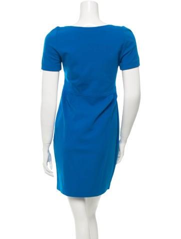 Casual Scoop Neck Dress