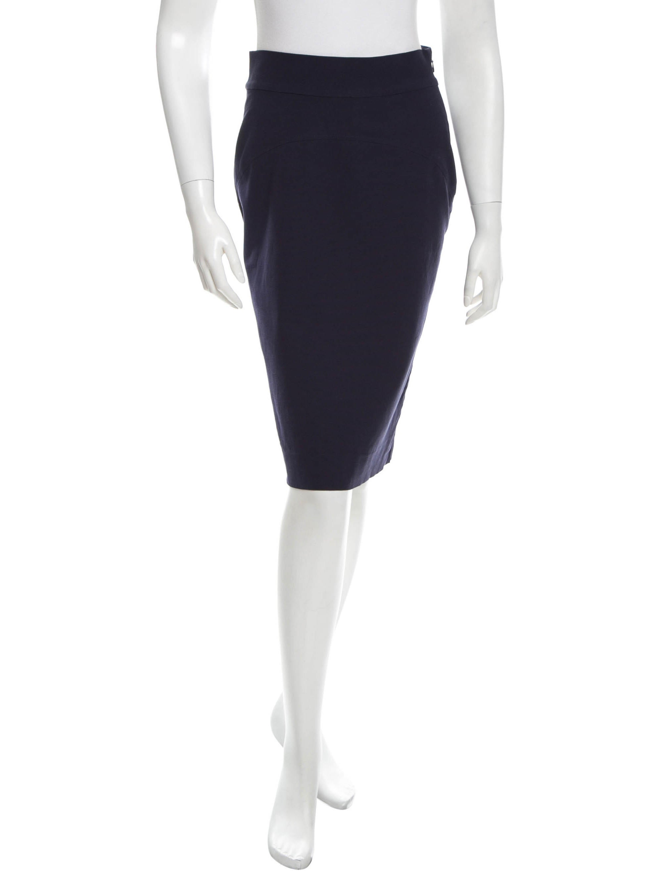 diane furstenberg classic pencil skirt clothing