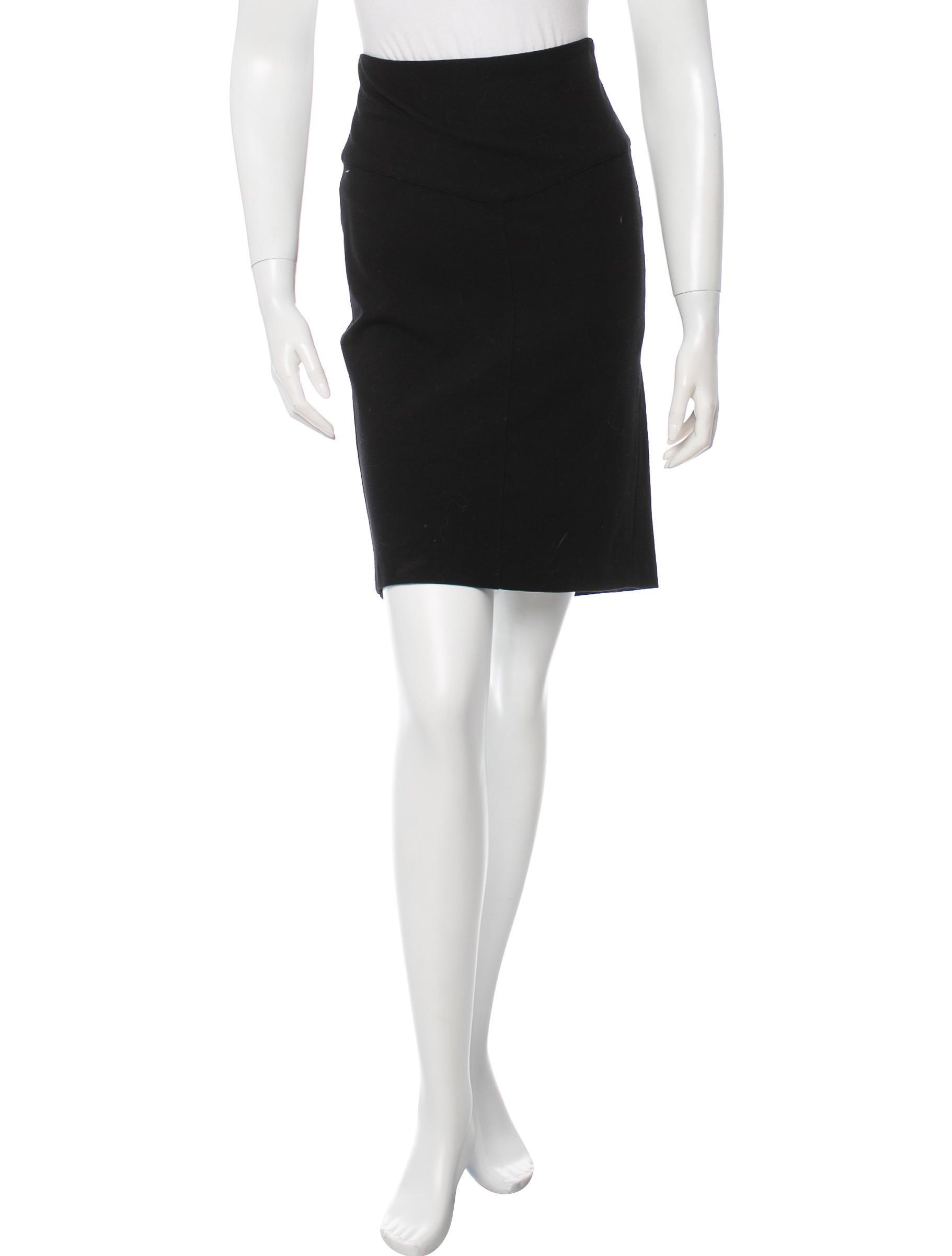diane furstenberg knee length knit skirt clothing