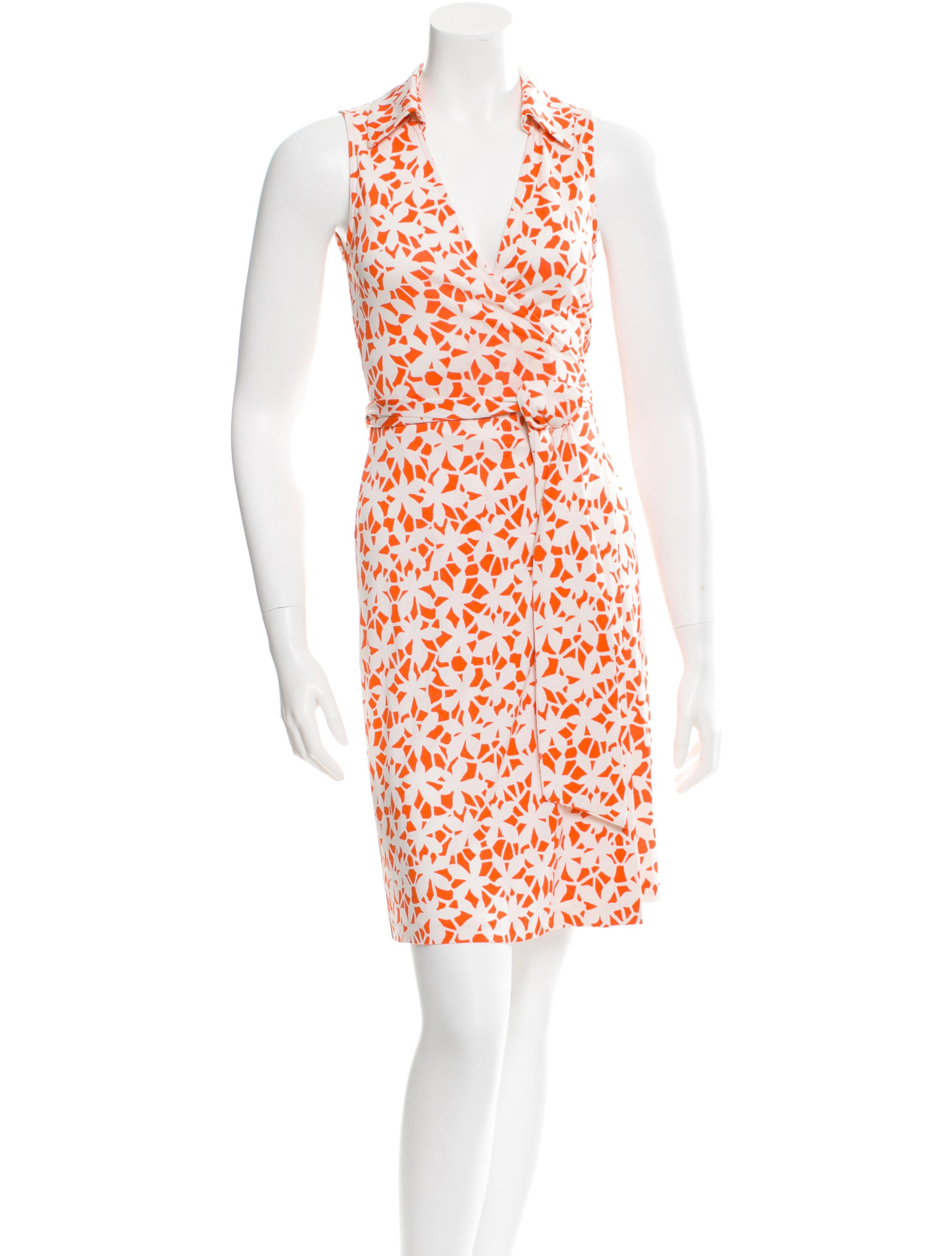 Diane von furstenberg silk wrap dress clothing for Diane von furstenberg clothes