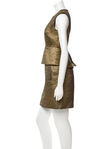 Metallic Delian Dress