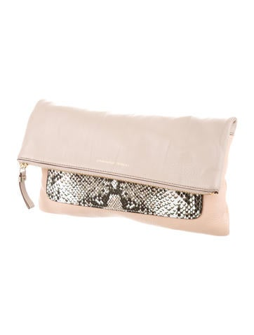 Fold-Over Clutch w/ Tags