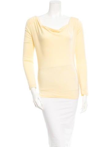 Diane von Furstenberg Long Sleeve Top None