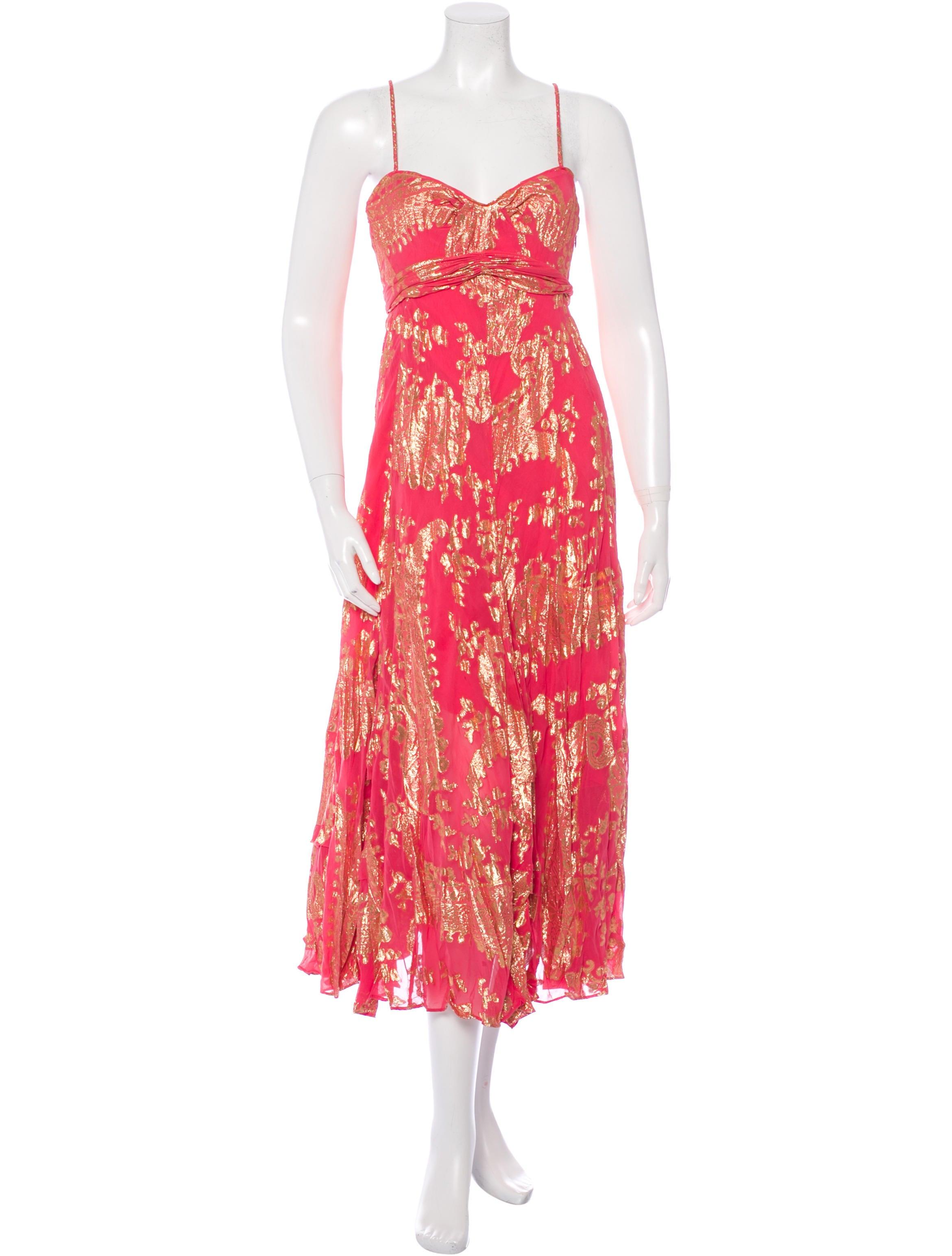 Diane von furstenberg silk brocade dress clothing for Diane von furstenberg clothing