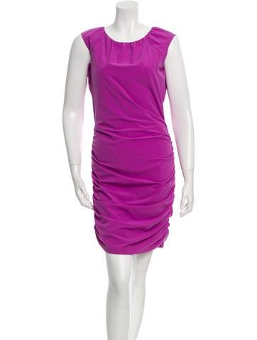 Diane von Furstenberg Sleeveless Ruched Dress