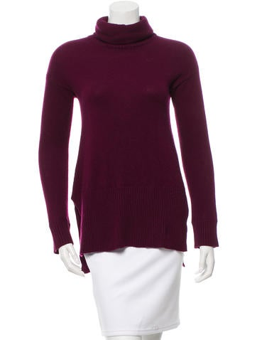 Diane von Furstenberg Cashmere Turtleneck Sweater None