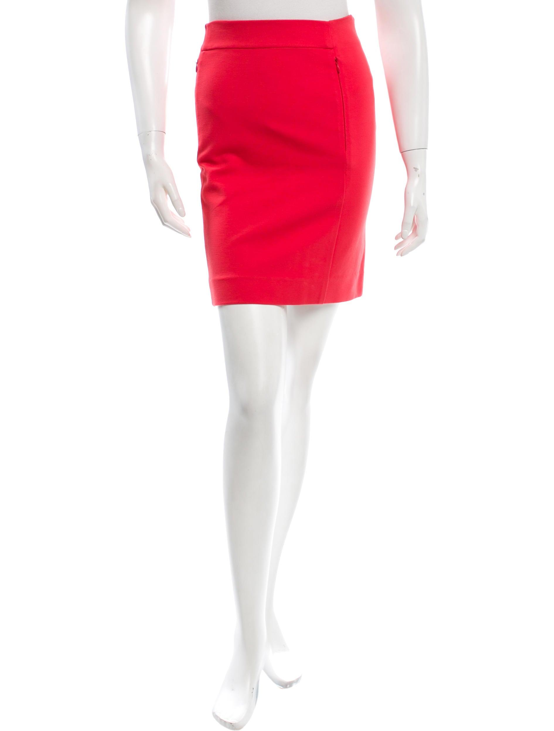 diane furstenberg pencil mini skirt clothing