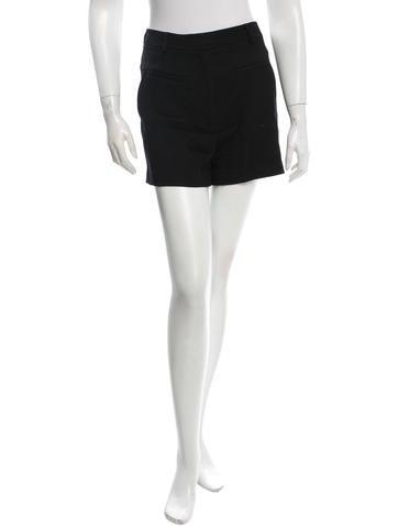 Diane von Furstenberg Notrina Wool Shorts