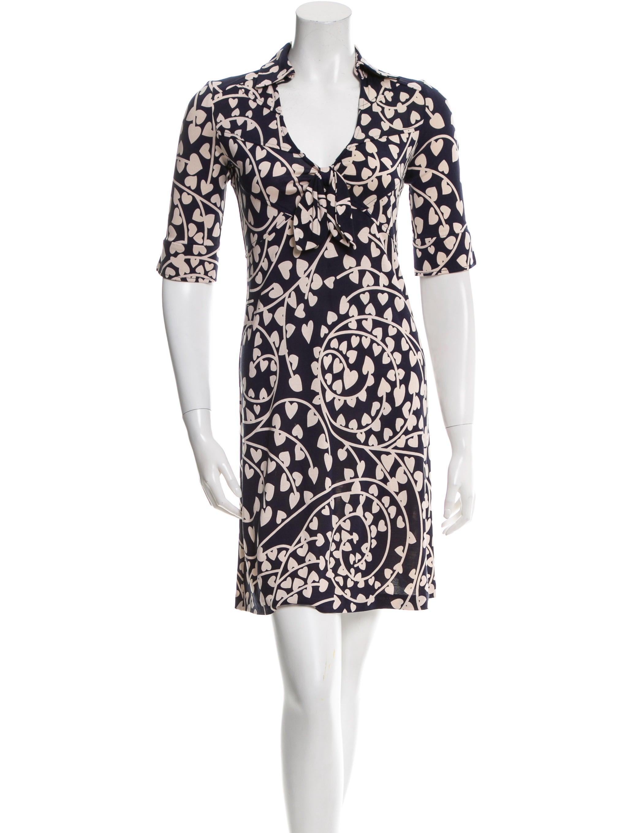 Diane von furstenberg silk lilith dress clothing for Diane von furstenberg clothing