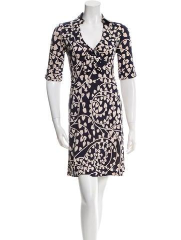 Diane Von Furstenberg Silk Lilith Dress Clothing