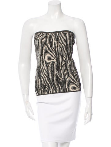 Diane von Furstenberg Sleeveless Knit Top None