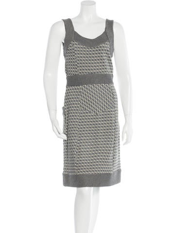 Diane von Furstenberg Sleeveless Knit Dress None