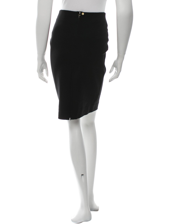 Diane von Furstenberg Stretch Knit Knee-Length Skirt ...