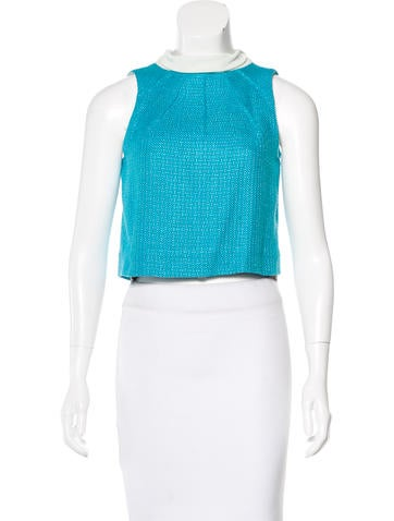 Diane von Furstenberg Sleeveless Turtleneck Top None