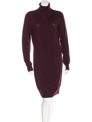 Diane von Furstenberg Midi Sweater Dress None