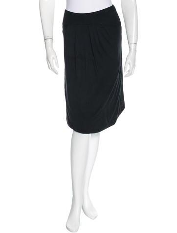 Diane von Furstenberg Silk-Blend Midi Skirt None