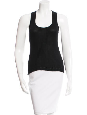 Diane von Furstenberg Silk Sleeveless Top None