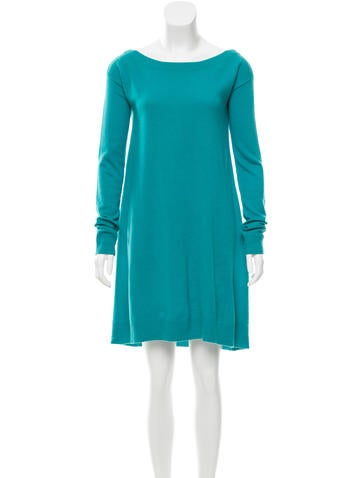 Diane von Furstenberg Wool Sweater Dress None