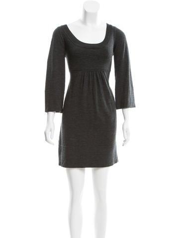 Diane von Furstenberg Wool Sweater Dress None