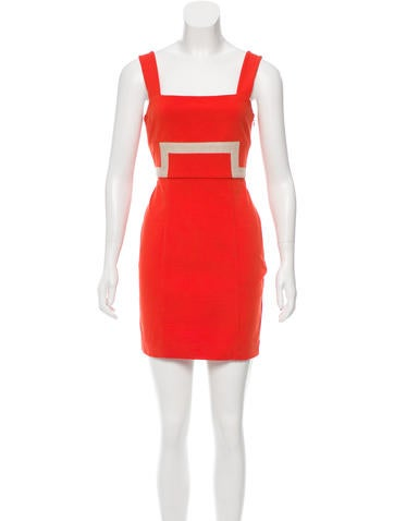 Diane von Furstenberg Mini Bodycon Dress