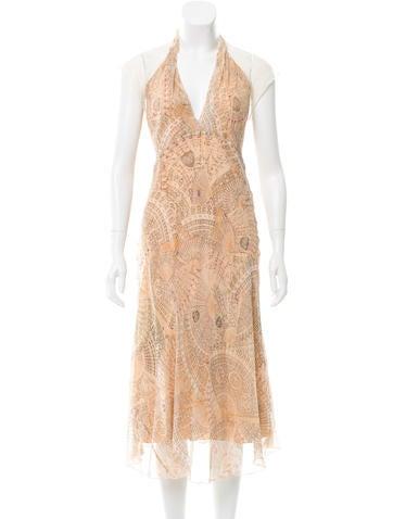 Diane von Furstenberg Val Lace-Accented Dress None
