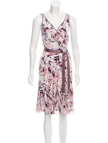 Diane von Furstenberg Silk-Blend Wrap Dress