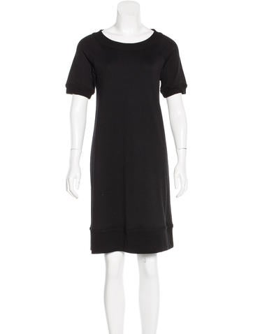 Diane von Furstenberg Wool Short Sleeve Dress None