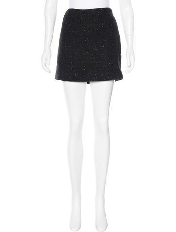 Diane von Furstenberg Metallic Kawa Skirt w/ Tags