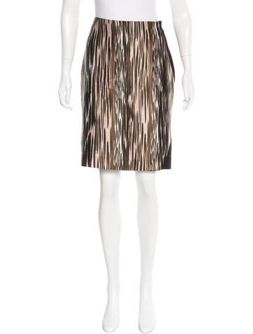 Diane von Furstenberg Emma Mikado Printed Skirt