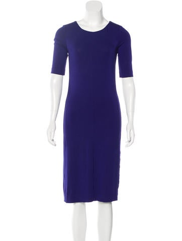 Diane von Furstenberg Knit Midi Dress None