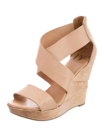 Multistrap Wedge Sandals