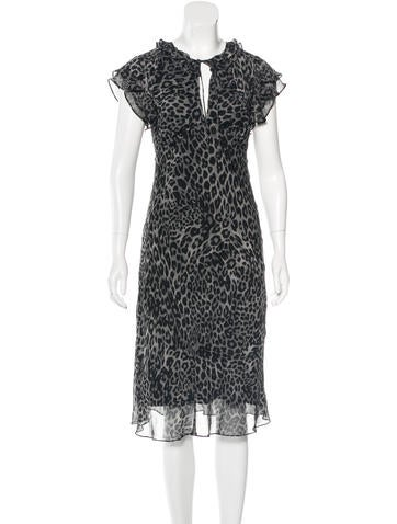 Diane von Furstenberg Casper Silk Dress None
